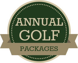 annual golf packages badge